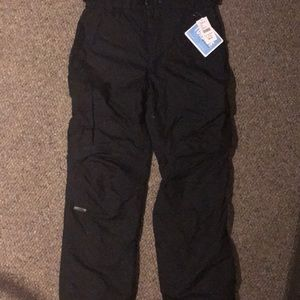 Men's ski pants, size small
